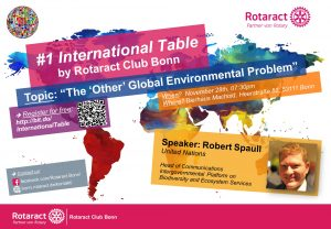 1st International Table@Rotaract Club Bonn @ Bierhaus Machold | Bonn | Nordrhein-Westfalen | Deutschland