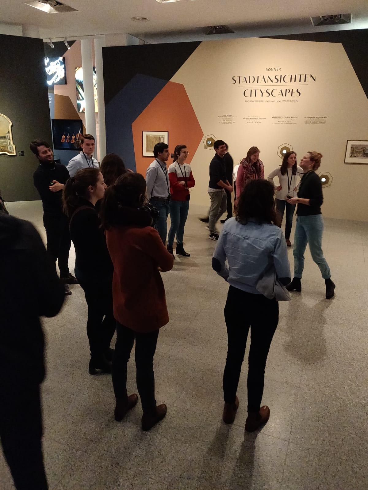 Besuch der Beethoven-Ausstellung im Haus der Geschichte (07.01.2020)